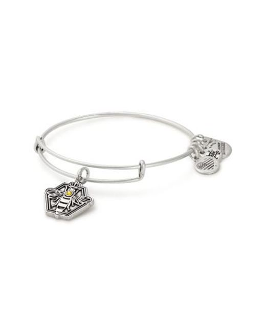 ALEX AND ANI | Metallic Charity By Design Queen Bee Adjustable Bangle | Lyst