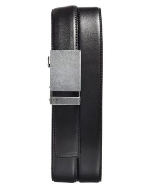 Mission Belt - Black 'iron' Leather Belt for Men - Lyst