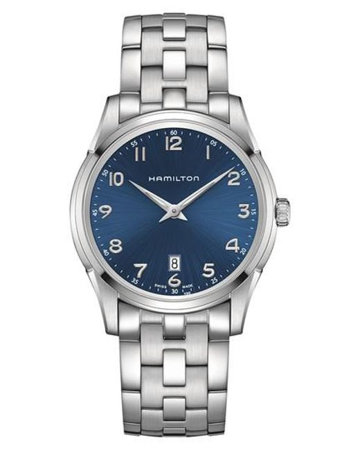 Hamilton - Metallic Jazzmaster Thinline Bracelet Watch - Lyst