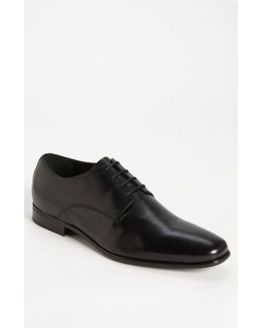 Gordon Rush - Black 'manning' Derby for Men - Lyst