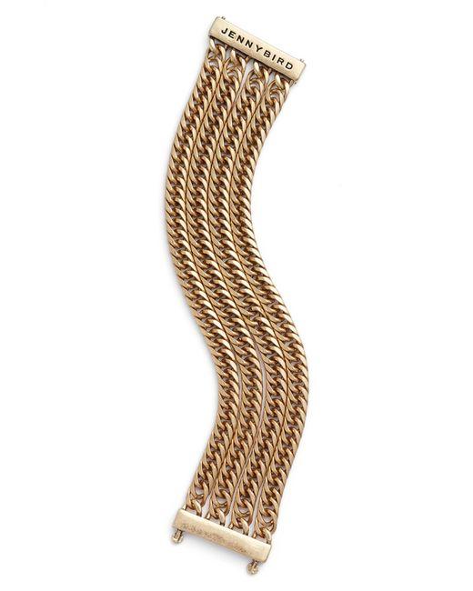 Jenny Bird - Metallic The Lookout Chain Bracelet - Lyst