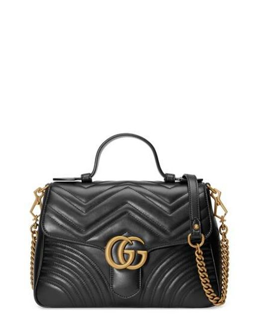 Small GG Marmont Top Handle Shoulder Bag Gucci ir0oo