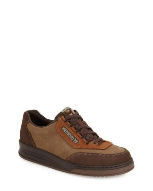 Mephisto | Brown 'match' Walking Shoe for Men | Lyst
