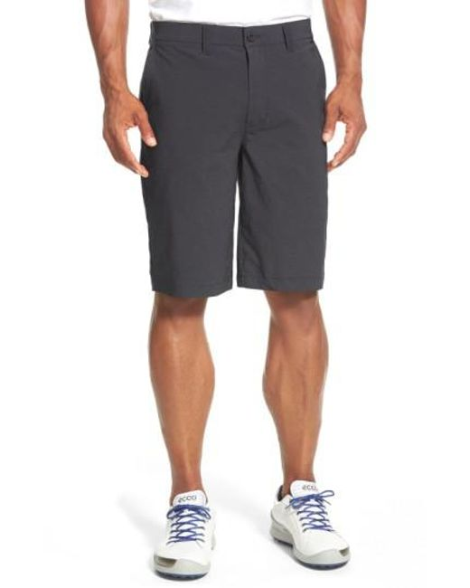 Travis Mathew - Black 'hefner' Stretch Golf Shorts for Men - Lyst