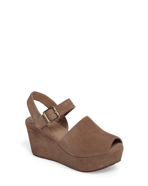 Chocolat Blu - Brown Wagga Platform Wedge Sandal - Lyst