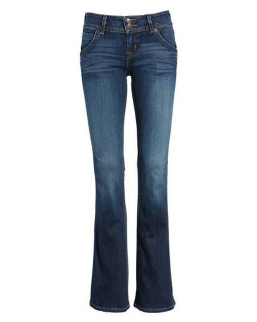 Hudson - Blue Signature Bootcut Jeans - Lyst