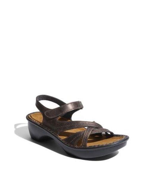 Naot - Brown 'paris' Sandal - Lyst