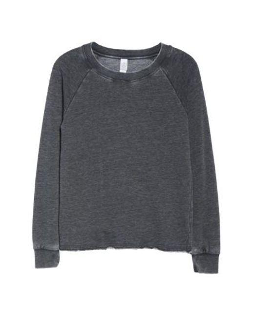 Alternative Apparel - Black Lazy Day Pullover - Lyst