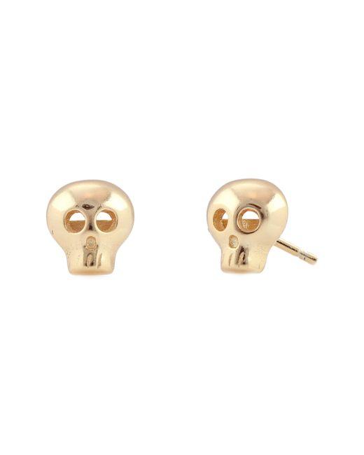 Kris Nations - Metallic Skull Stud Earrings - Lyst