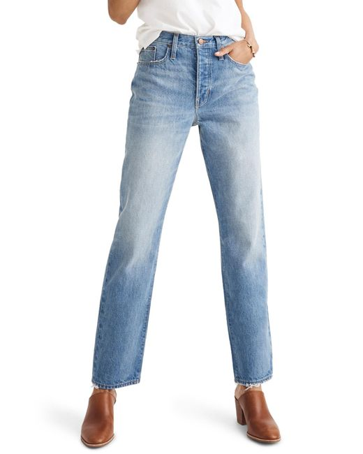 Madewell - Blue The Dadjean High Waist Jeans - Lyst