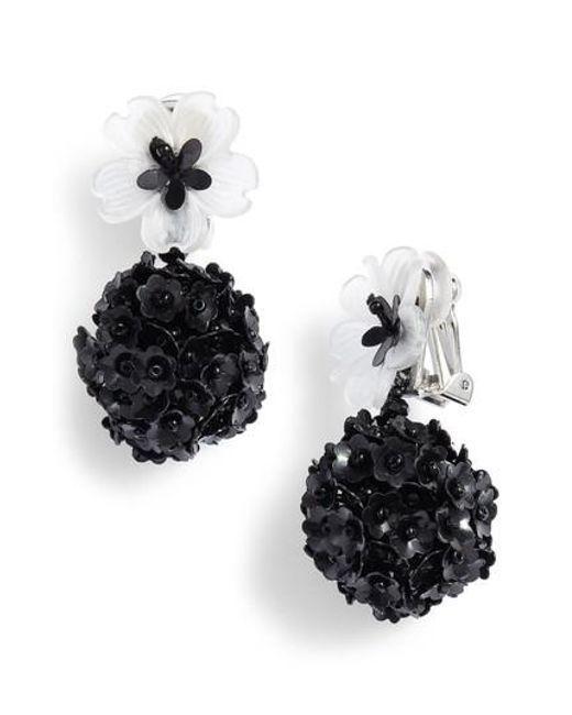 Sachin & Babi Fleur Eclipse Earrings cYJIyOYDX