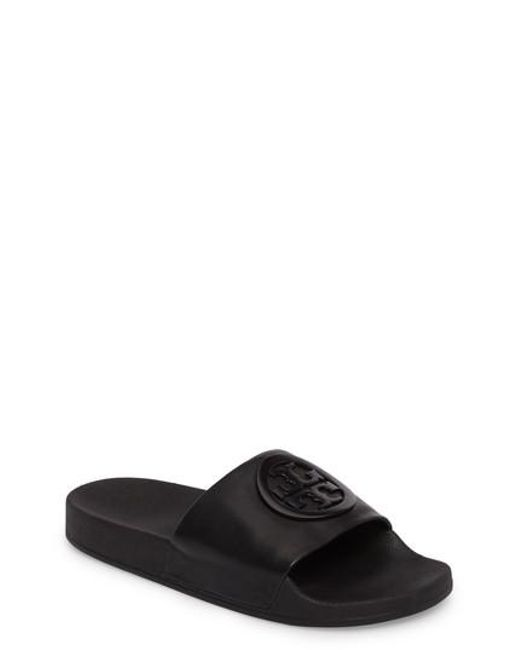 Tory Burch - Black Lina Slide Sandal for Men - Lyst