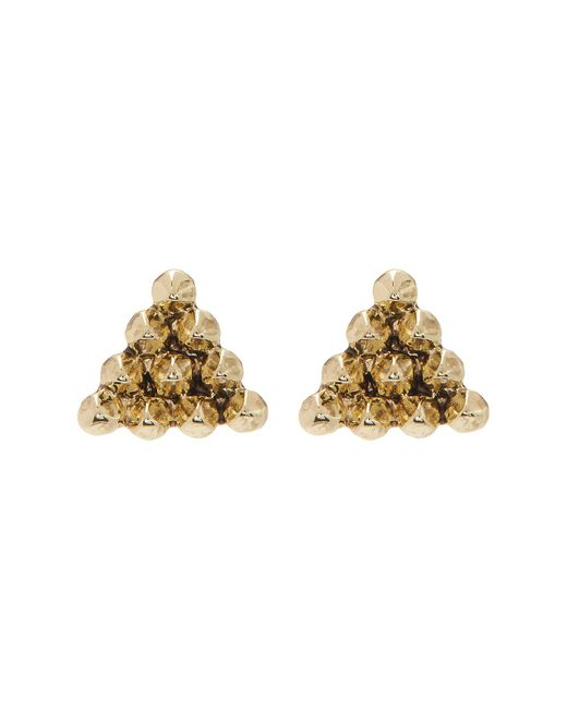 House of Harlow 1960 | Metallic Cerro Torre Pyramid Stud Earrings | Lyst