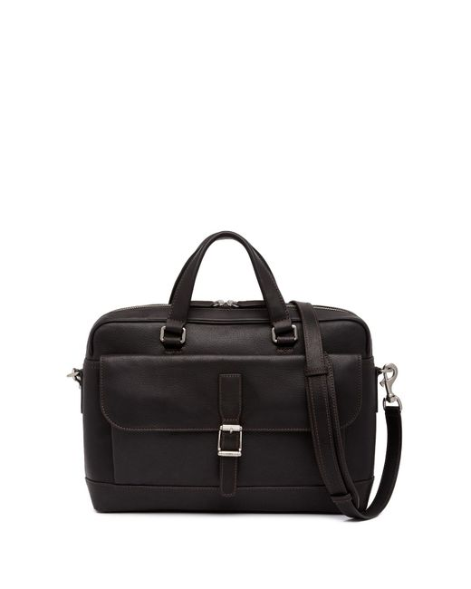 Frye - Black Oliver 2 Handle Leather Messenger Bag for Men - Lyst