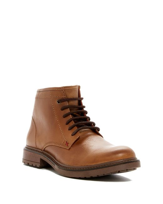Gbx | Brown Paeton Lace-up Boot for Men | Lyst