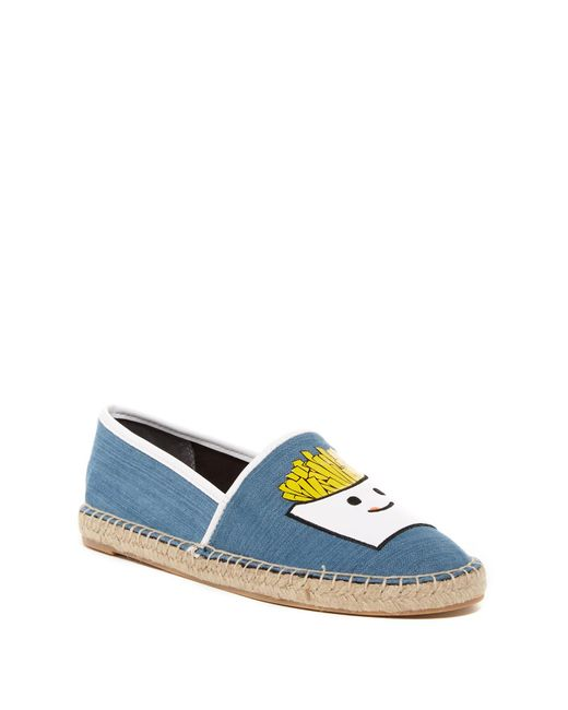 Circus by Sam Edelman | Blue Leni French Fry Espadrille Flat | Lyst