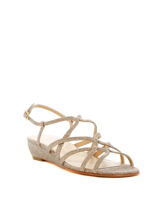 Stuart Weitzman - Multicolor Turning Down Slingback Sandal- Multiple Widths Available - Lyst