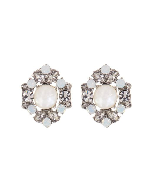 Marchesa | Multicolor Cluster Button Earrings | Lyst