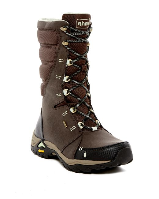 Ahnu | Brown Northridge Insulated Waterproof Boot for Men | Lyst