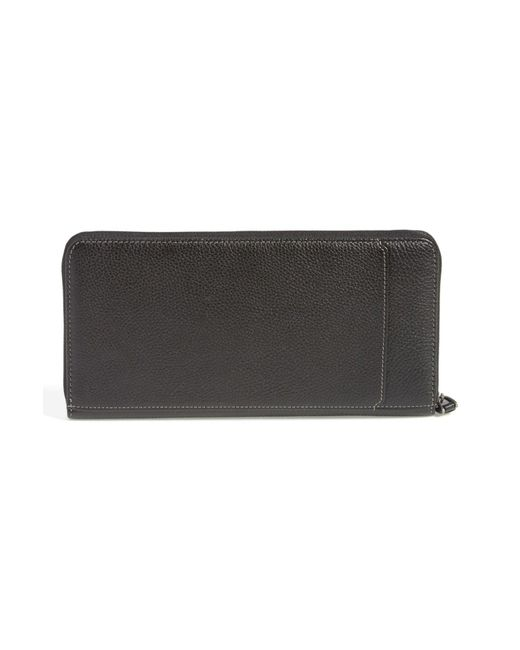 Boconi | Black 'tyler' Rfid Protected Traveler Wallet for Men | Lyst
