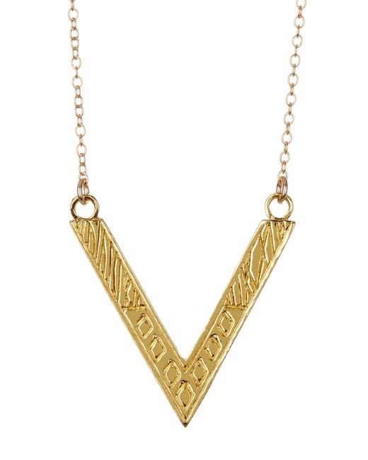 Gorjana | Metallic Sia Wrap Necklace | Lyst