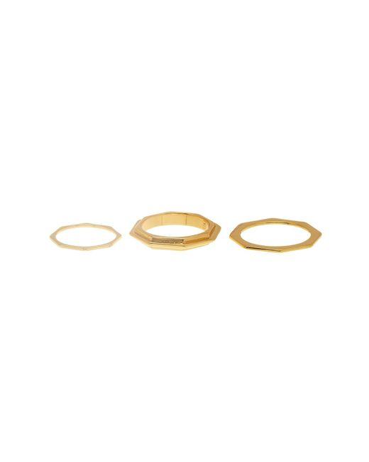Gorjana   Metallic Peytin Ring Set - Size 8   Lyst