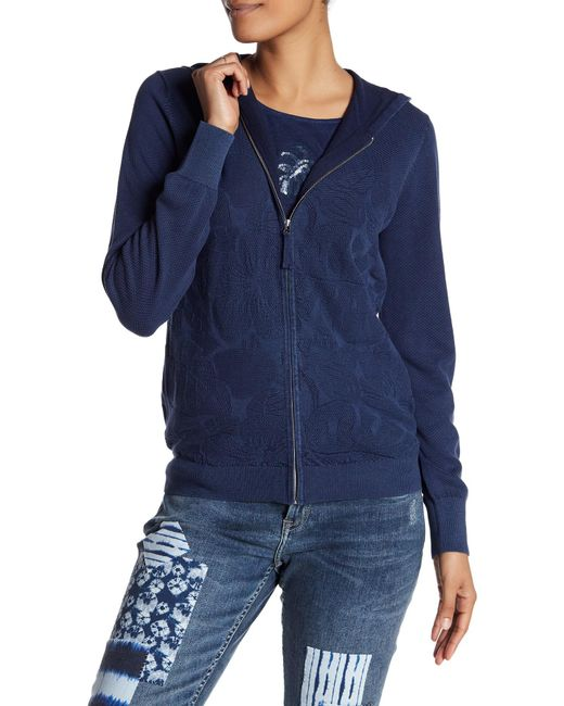 Tommy Bahama - Blue Tropical Sea Glass Zip-up Hoodie - Lyst