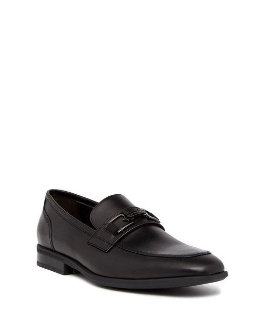 Bruno Magli - Black Fermo Leather Loafer for Men - Lyst