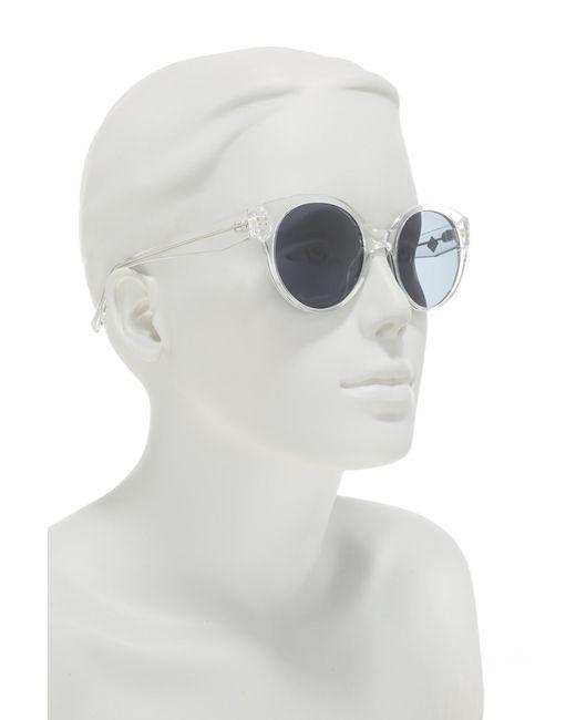 538da5214310 ... Cole Haan - Multicolor Polarized 52mm Round Sunglasses - Lyst ...