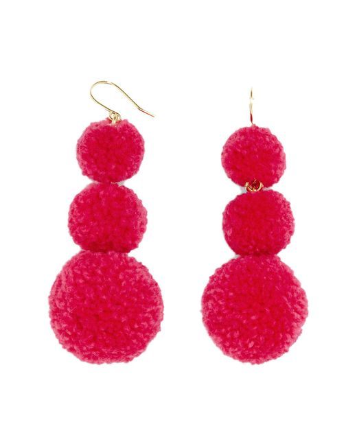 BaubleBar   Pink Mykonos Drop Earrings   Lyst