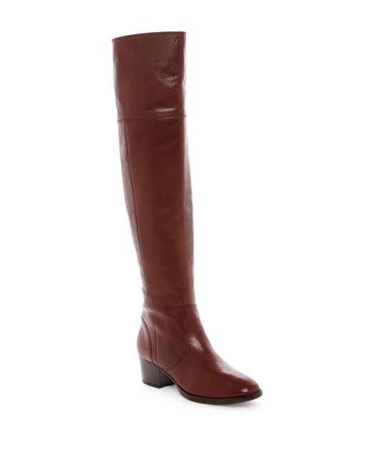 Frye | Brown Clara Tassel Over The Knee Boot - Extended Calf | Lyst