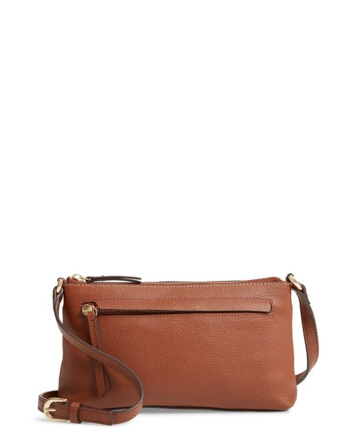 e126f58d68e8 Lyst - Nordstrom Mya Leather Crossbody Bag in Brown