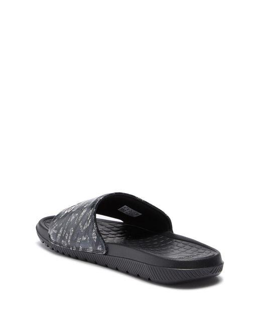 27af1da910a9 ... Adidas - Black Voloomix Slide Sandal for Men - Lyst ...
