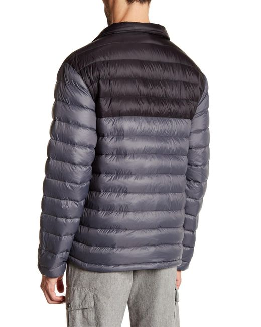 Hawke & co. Pullover Puffer Jacket in Gray for Men | Lyst