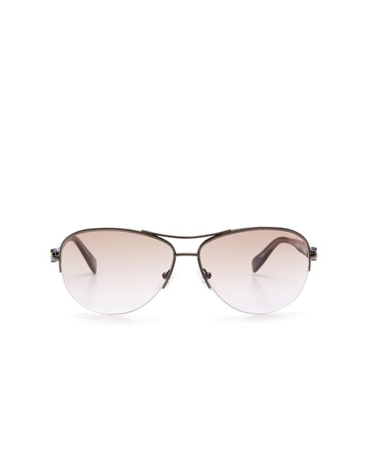 Diane von Furstenberg | Multicolor Women's Aviator Sunglasses | Lyst