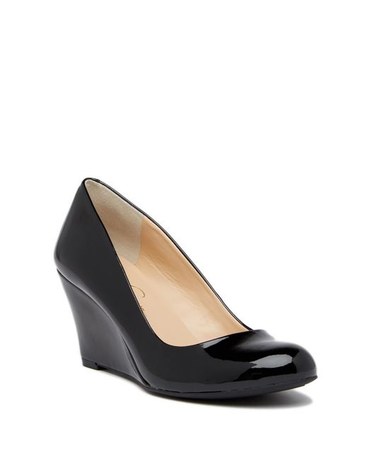 Jessica Simpson - Black Suzanna Wedge Pump - Multiple Widths Available - Lyst