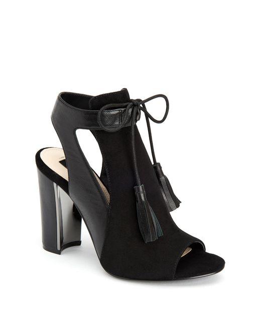 Jones New York | Black Jemma Peep Toe Block Heel | Lyst