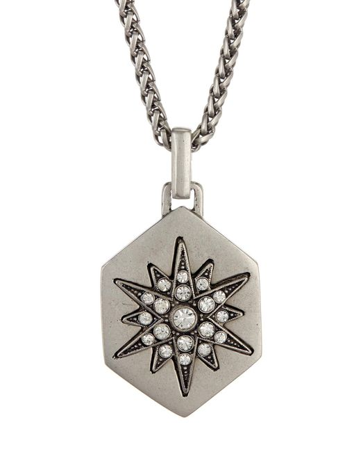 Loren Hope - Metallic Starburst Hex Pendant Necklace - Lyst