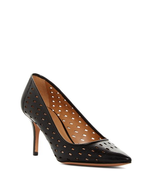 Nine West | Black Getitgirl Strappy Peep Toe Pumps | Lyst