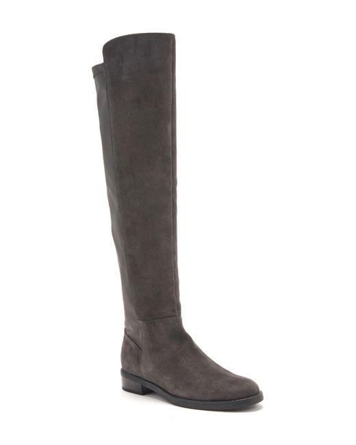 Blondo - Gray Olivia Waterproof Leather Knee High Boot - Lyst