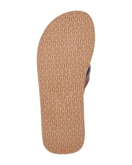 cccd2191563c1 ... Tommy Hilfiger - Multicolor Davidson Flip Flop Sandal for Men - Lyst ...