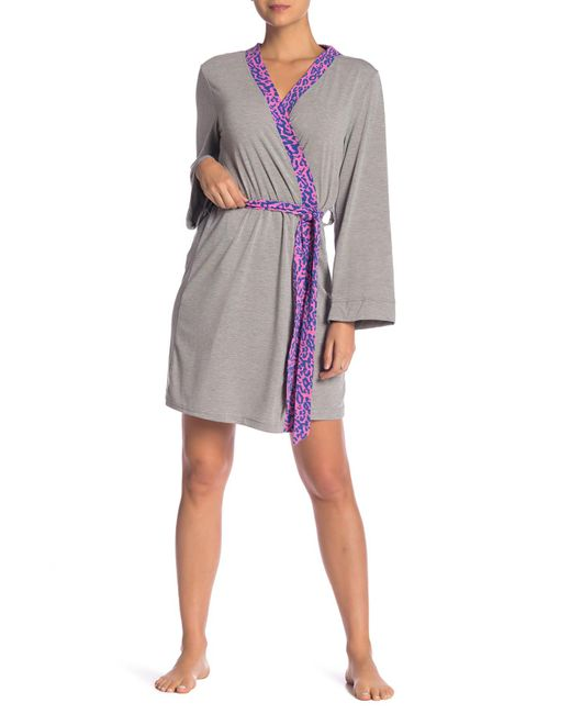 Honeydew Intimates - Gray Adormable Short Robe - Lyst