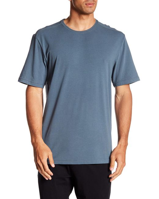 Joe's Jeans - Blue Marine Layer Crew Neck Tee for Men - Lyst