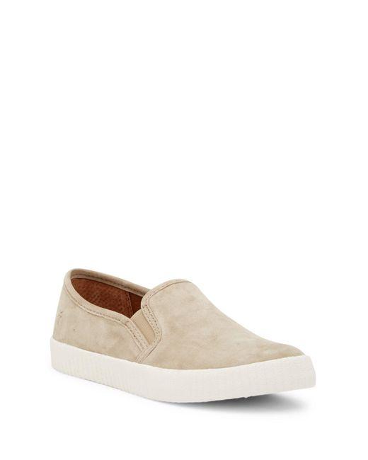 Frye - Brown Camille Slip-on Sneaker - Lyst