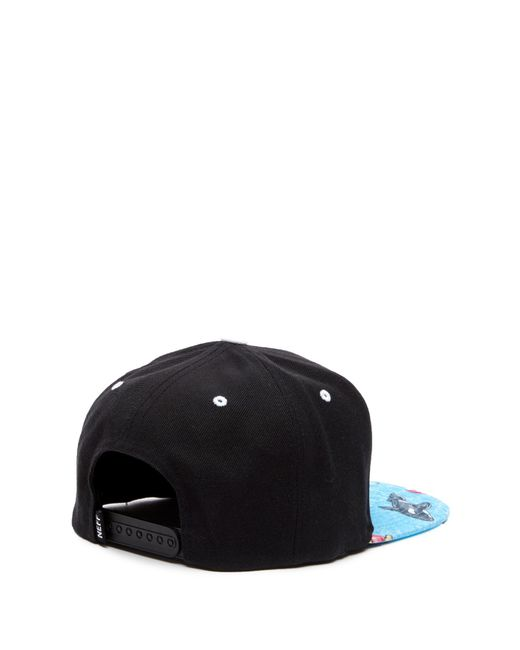 c9095d2b63b ... Neff - Black Daily Smile Pattern Cap for Men - Lyst