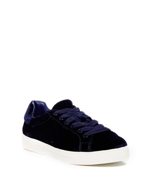 Circus by Sam Edelman - Blue Caprice Velvet Sneaker for Men - Lyst