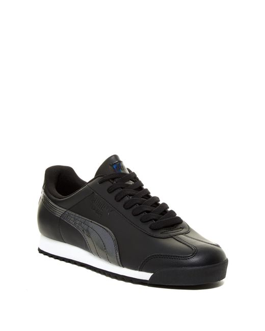 PUMA | Black Roma Tl Iridescent Sneaker for Men | Lyst