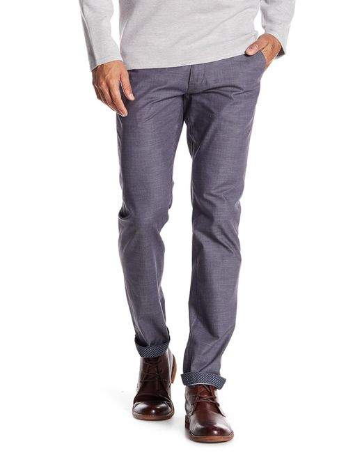 Ted Baker | Gray Shiresy Slim Fit Trousers for Men | Lyst