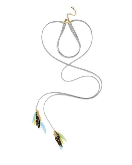 BaubleBar   Multicolor Ravyn Lariat Choker Necklace   Lyst