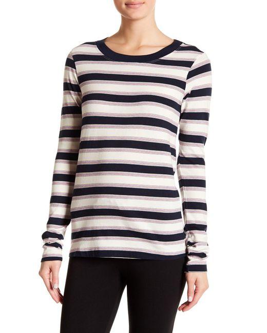 Stateside - Multicolor Striped Long Sleeve Tee - Lyst